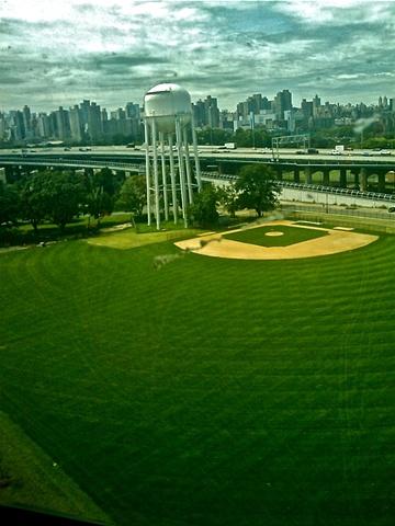 Alien-Run Baseball Field