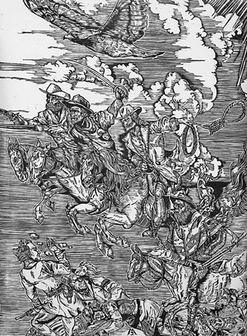 Durer, Jonah Hex, Cowboys, Man with no Name, Hawk, Four Horseman,