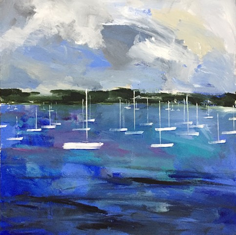 Windy Cove by Molly Wright   mollywrightart.com