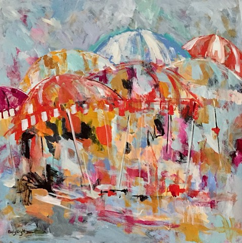 Summer Colors by Molly Wright   mollywrightart.com