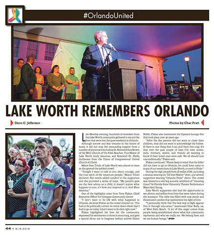 South Florida Gay News 06/15/16
