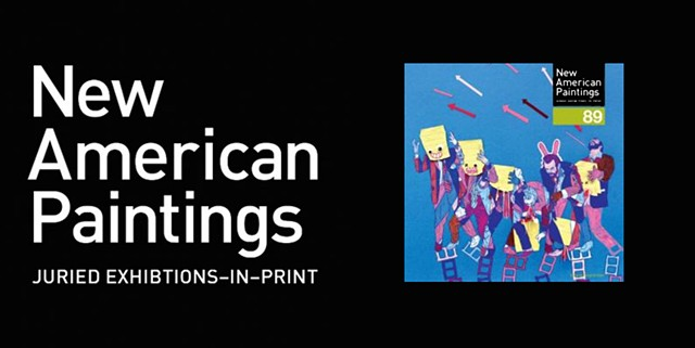 "2010 - Publication, ""New American Paintings"""