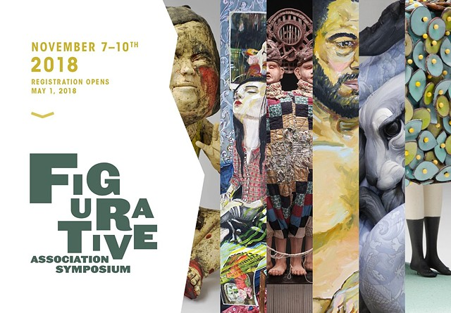 "2018 - Symposium & Group Exhibition, ""Figurative Association Symposium"""