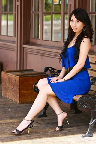 The Blue Dress 3