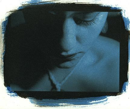 Black&Blue Self Portrait