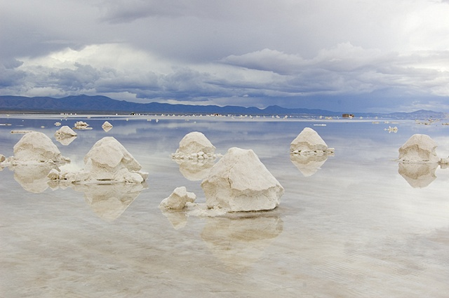Salt Mounds, Bolivia