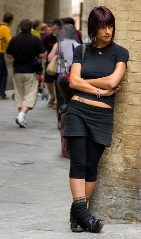 Italian Punk Girl