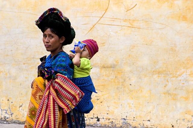 Mayan Woman w/Child