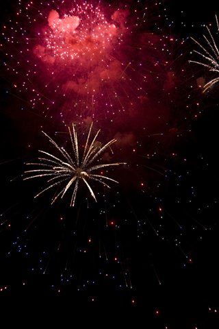 Fireworks 2 Vancouver B.C., Canada