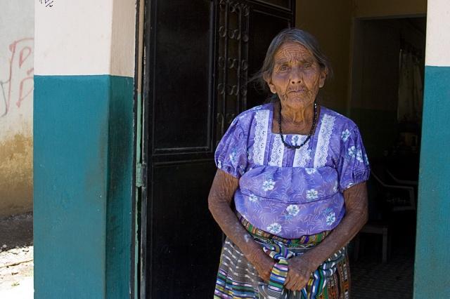 Elderly Guatemalan Woman