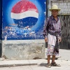 Guatemalan Man w/Pepsi Sign