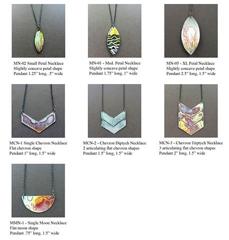 Microcosm Collection - Necklaces