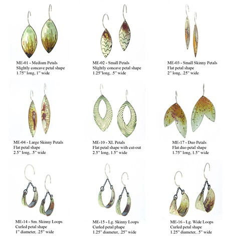 Microcosm Collection - Earrings 1