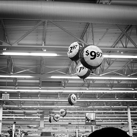 Black Friday, Walmart, Sale Price Balloons