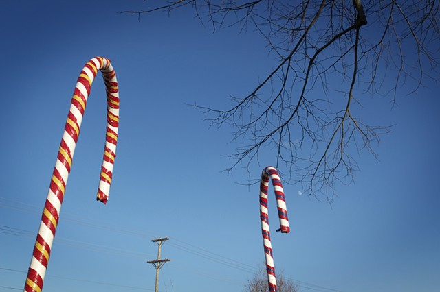 Black Friday, Pipe and Duct Tape Candy Canes