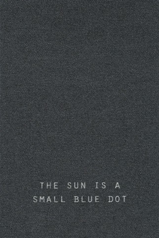 Cover The Sun is a Small Blue Dot
