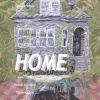 """""""HOME: The Aesthetics and Politics of Home"""" curated by Liena Vayzman. Invitation card (front)"""