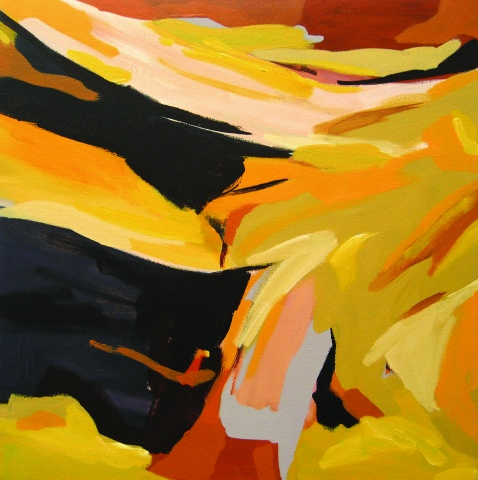Yellow Landscape 6-12