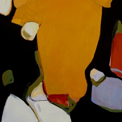 Orange Abstract 9-5