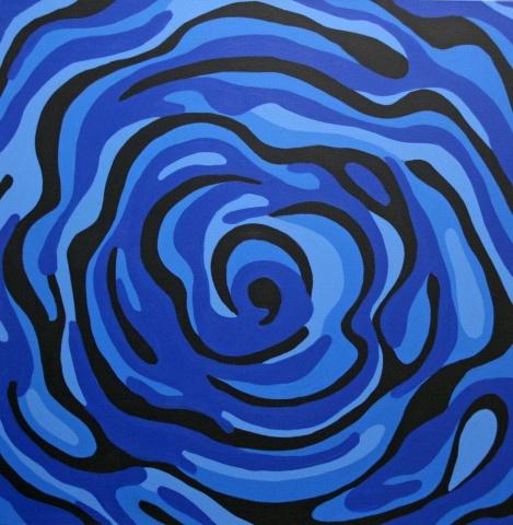 Blue Square Vortex