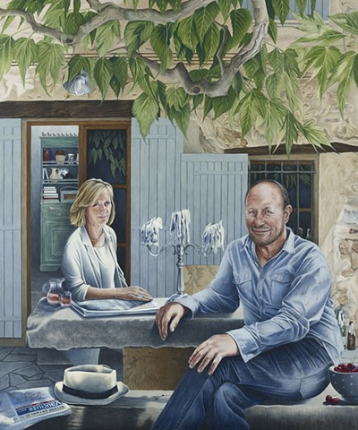 'Vaucluse Matin:' Portrait of Dominic and Lindsay Proctor