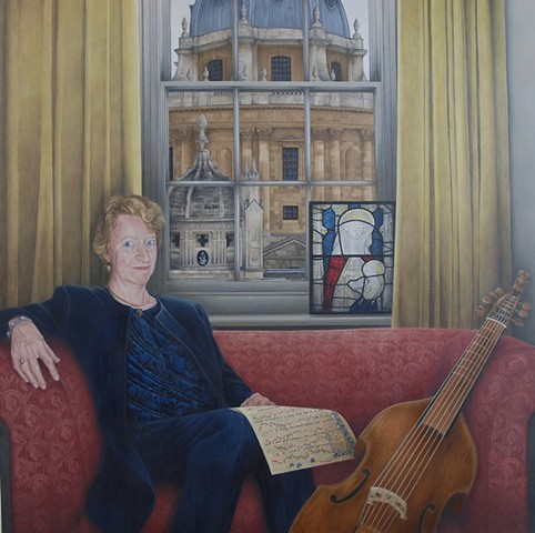 Portrait of Professor Margaret Bent CBE FBA