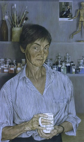 The Painting Analyst: Portrait of Libby Sheldon