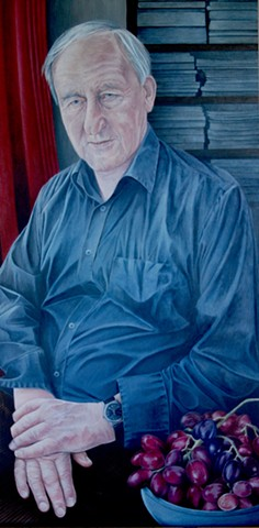 Portrait of Professor Myles Burnyeat CBE FBA