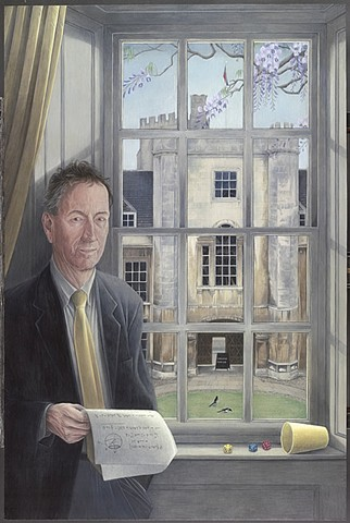 Portrait of Professor Frank Kelly CBE, FRS
