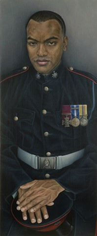 Portrait of Lance-Corporal Johnson Beharry VC