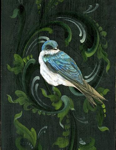 Night Swallow (Detail)
