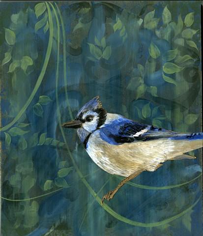 Blue Jay of Wisdom