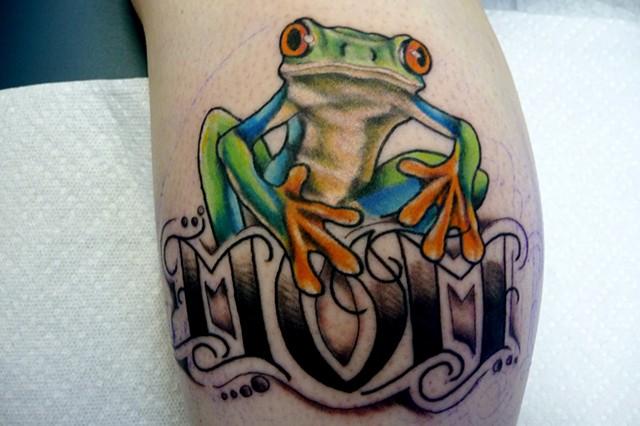 Mom Frog