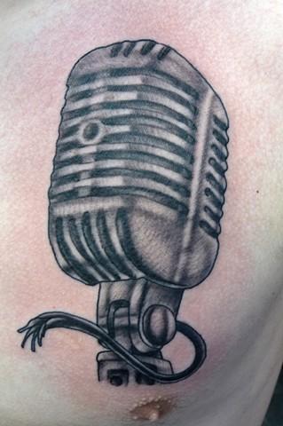 Grey Microphone