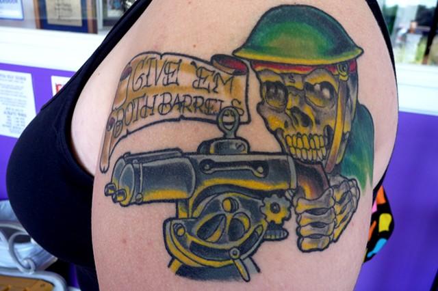 Machine Gun Skull