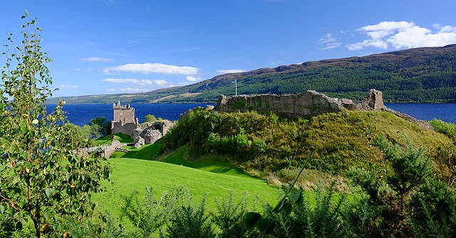 Castle view, Scotland