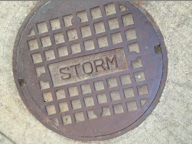 storm sewer