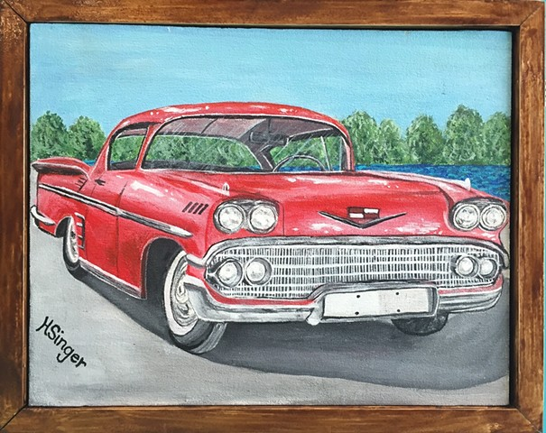 1958 Impala by Holly Glenn