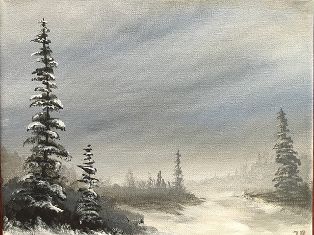 Winter Landscape by Zachary Soza