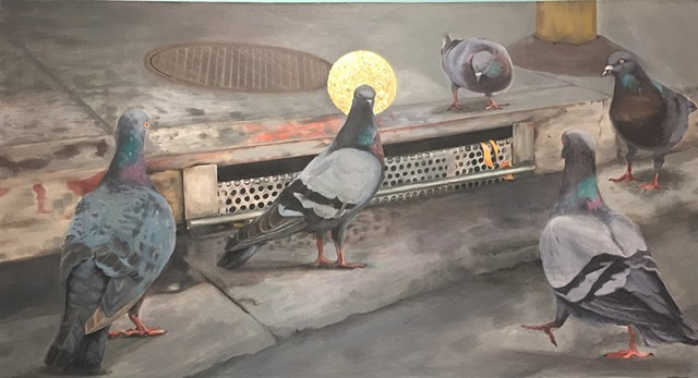 Pigeon Messiah by Gewel Kafka
