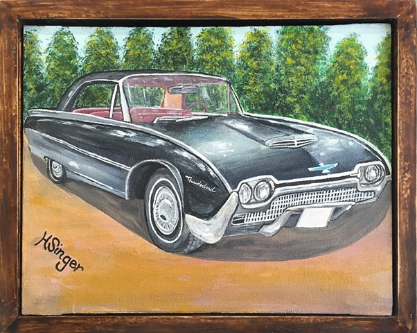1958 Thunderbird by Holly Glenn