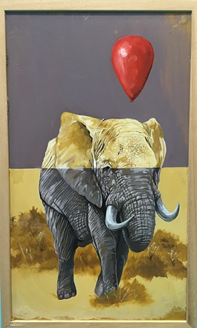 Elephant by Robert Page