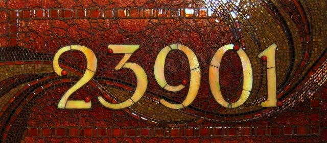 '23901'  Address Plaque