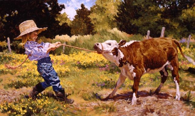 """Morgan and the Calf"""""""