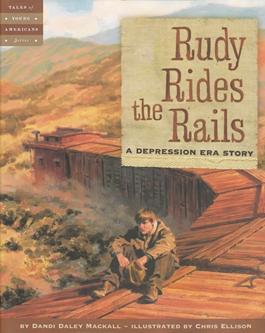 Cover: Rudy Rides the Rails