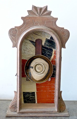 Joseph Cornell box, michael thompson chicago artist, found sculpture, assemblage, collage, Chinese