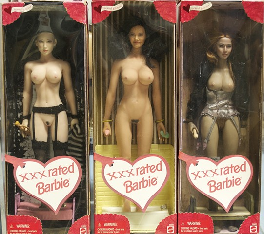 Barbie doll, erotic doll, nude doll