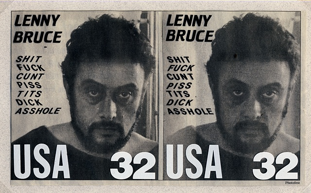 Lenny Bruce, Fake stamps