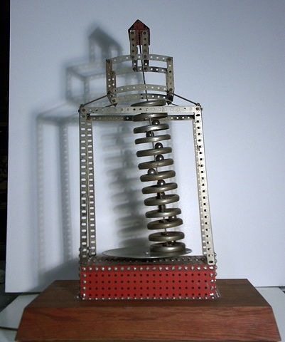 Kinetic sculpture, Erector Set