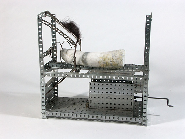 Erector set, kinetic sculpture, Penis, penis sculpture, intercourse sculpture, kinetic sex sculpture, sex sculpture